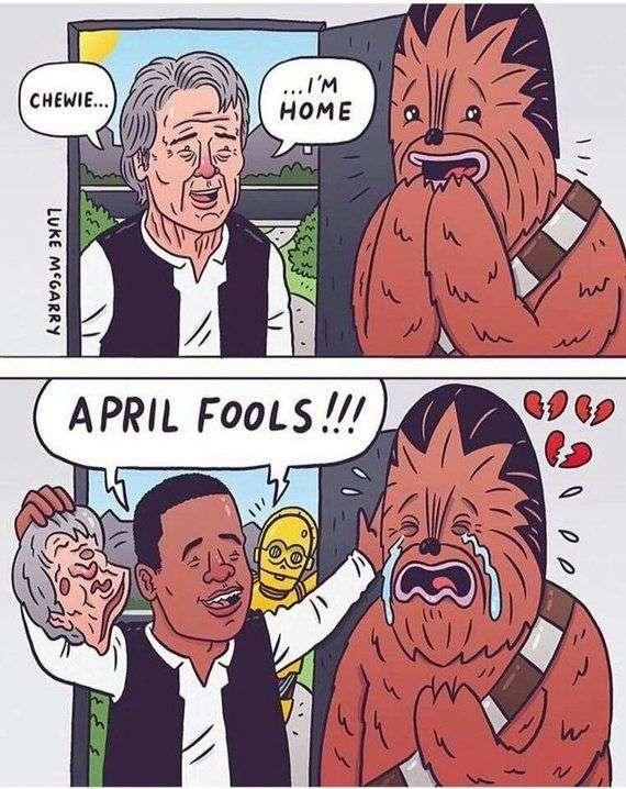 1 квітня в інтернеті
