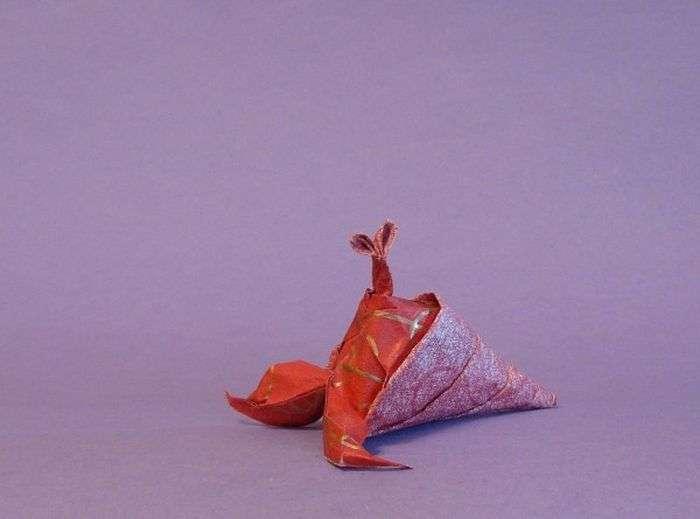 Акіра Есидзава і його дивовижні фігурки орігамі (10 фото)