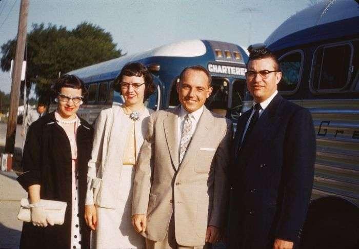 Америка 50-х років на кольорових знімках (77 фото)