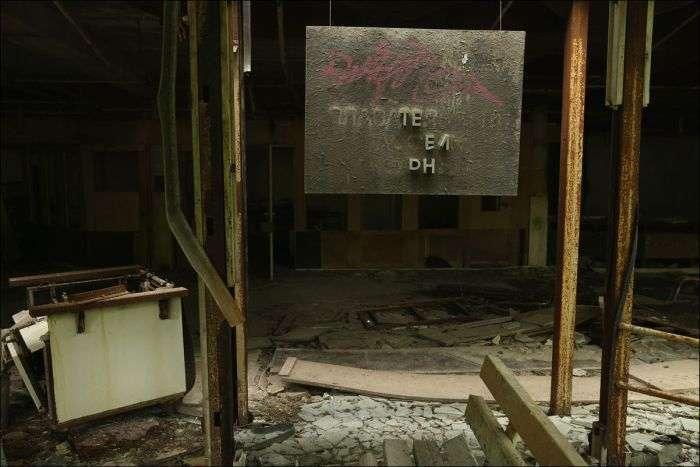 Зона відчуження Чорнобильської АЕС через 30 років після аварії (22 фото)