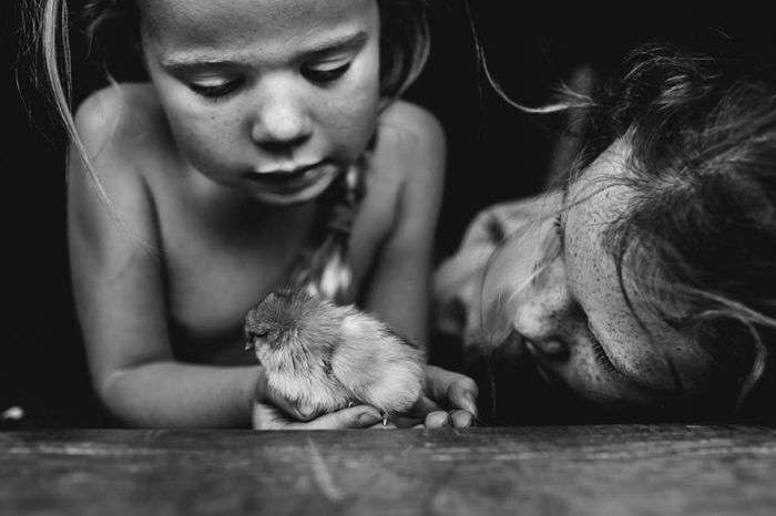 Дитинство, яке крадуть сучасні гаджети (27 фото)