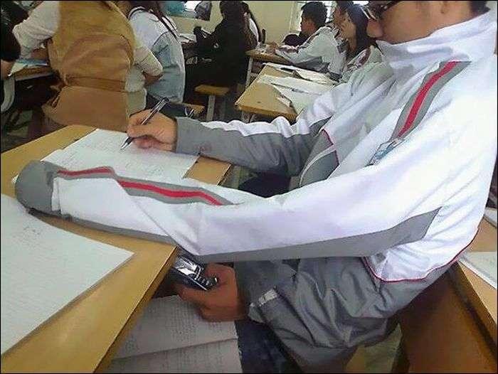 Хитрі шпаргалки школярів і студентів (33 фото)