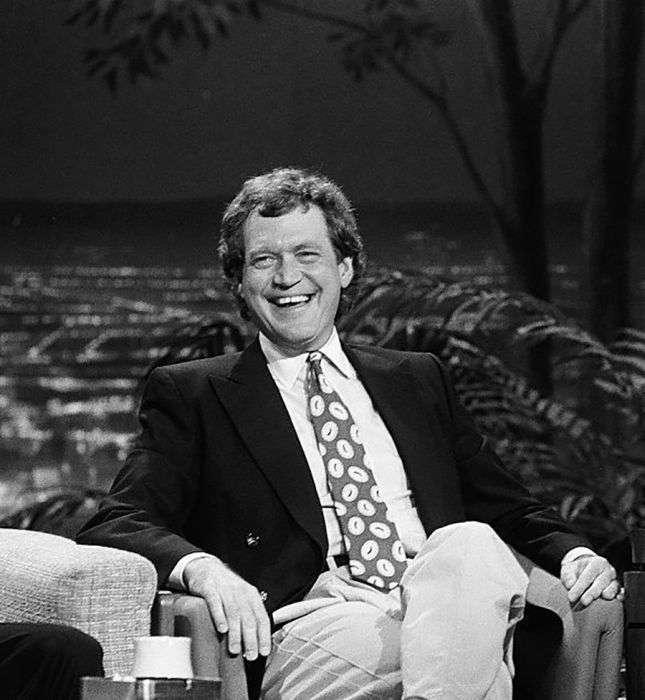 Як змінився ведучий Девід Леттерман за 33 роки роботи і один рік пенсії (12 фото)