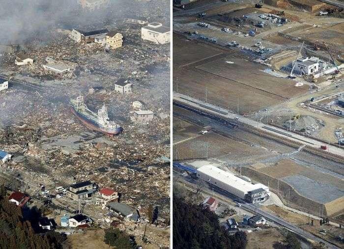 Як виглядають найближчі до Фукусімі міста через 5 років після аварії (5 фото + відео)