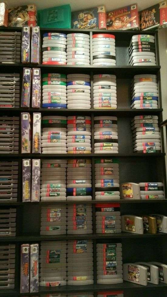 Американець продає колекцію з більш ніж 3000 відеоігор за 150 000 доларів (7 фото)