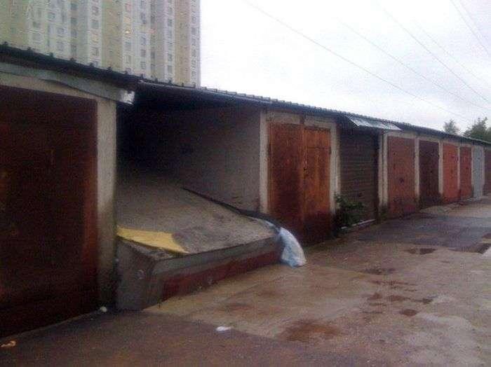 Епічний провал власника гаража (3 фото)