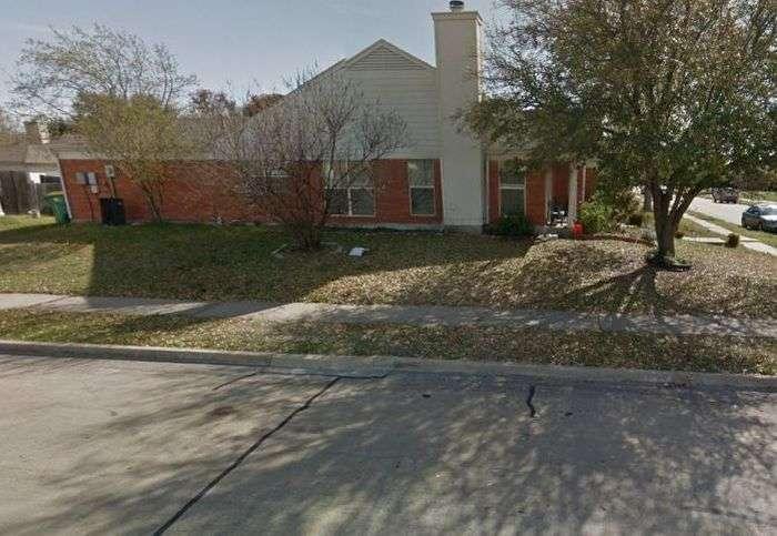 У Техасі через помилки Google Maps знесли не той будинок (5 фото)