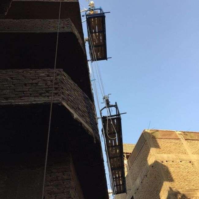 На стінах 50 будинків Каїра зявився гігантський графіті-пазл (6 фото + відео)
