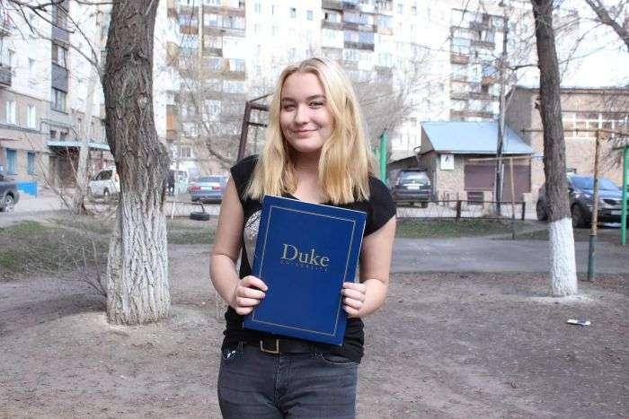 Школярка з Караганди отримала стипендію Білла Гейтса і поступила в Університет Дьюка (4 фото)