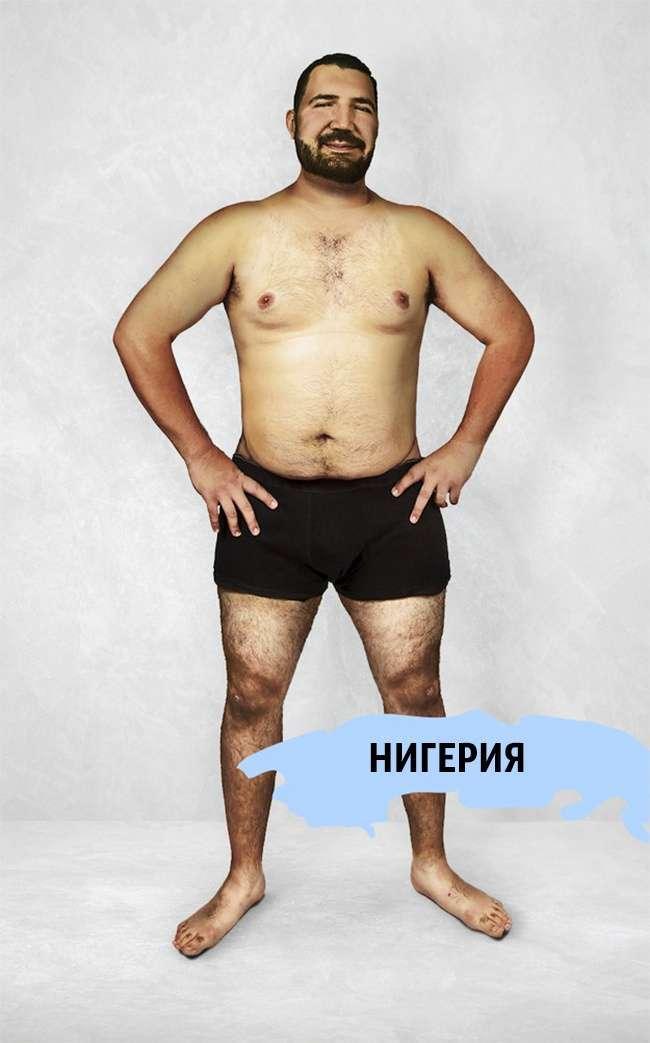Як виглядає ідеальне чоловіче тіло в різних країнах світу (16 фото)
