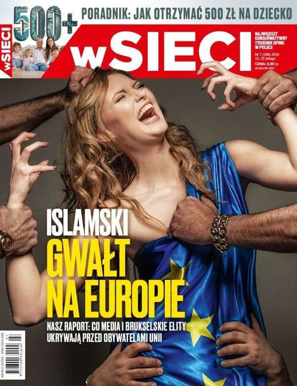 Обкладинка журналу «зґвалтуванням» Європи стала причиною гучного скандалу (2 фото)