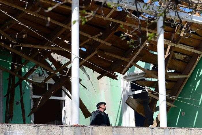 Нагорний Карабах через три дні після відновлення бойових дій (12 фото)