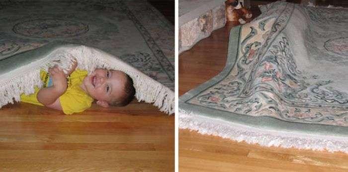 Діти погано грають у хованки (60 фото)
