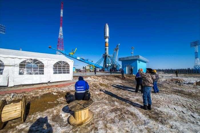 Космодром «Східний» готовий до першого запуску (35 фото)