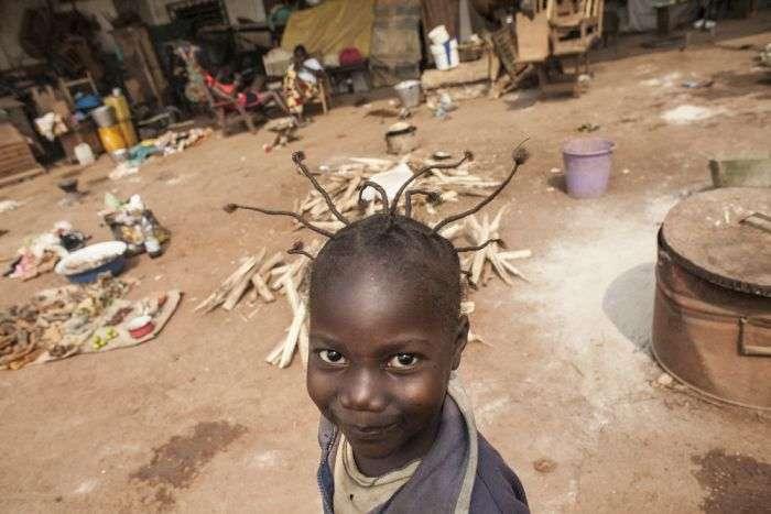 Табір для біженців Мяка Poko в Центральноафриканській Республіці (11 фото)
