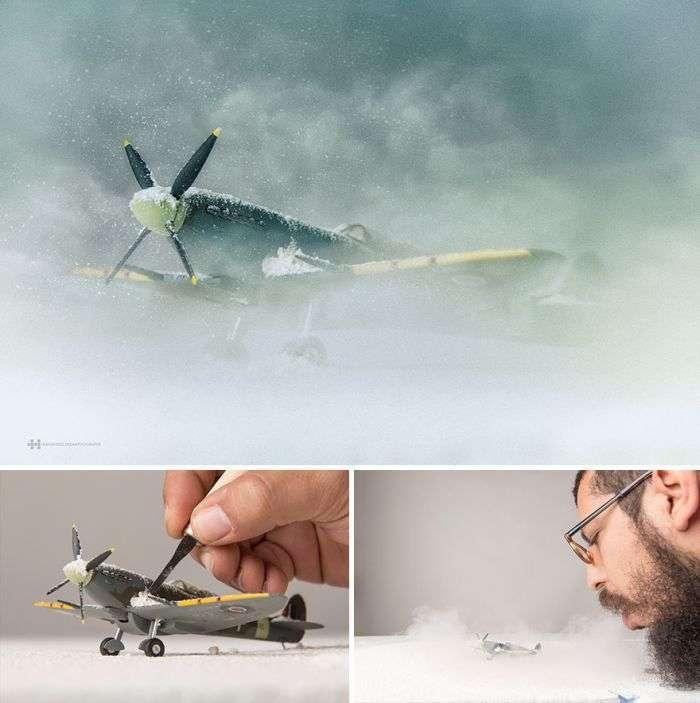 Дивовижні фотографії з дитячими іграшками (9 фото)