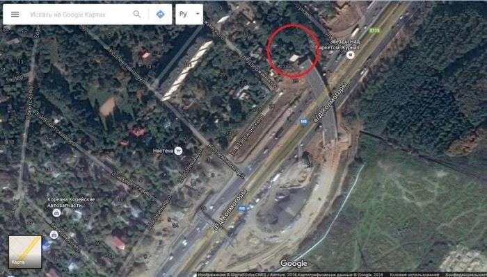 Незакінчена естакада на Ярославському шосе (4 фото)