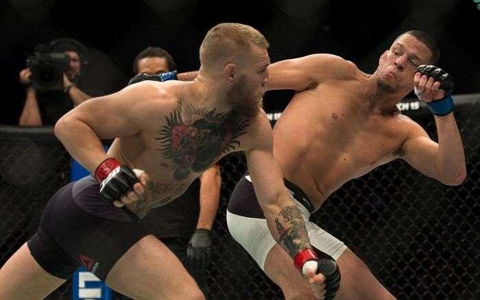 Конор Макгрегор зазнав поразки у бою проти Нейта Діаса (18 фото)