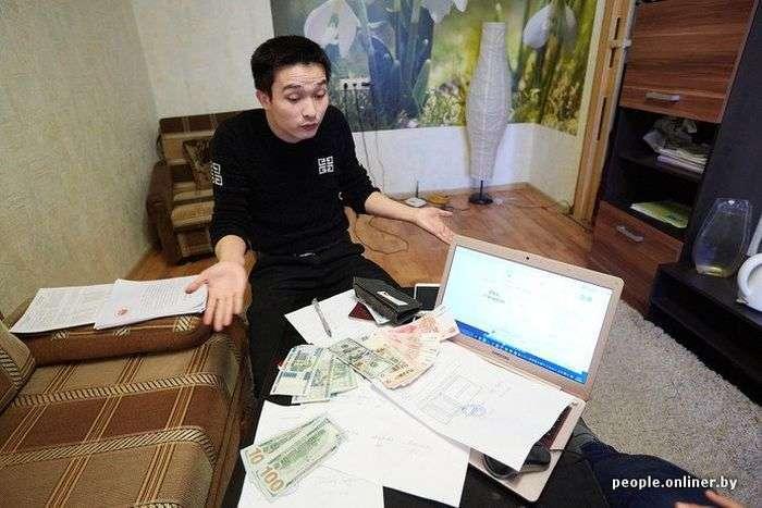 Связавшийся з білоруськими бізнесменами китаєць втратив 300 000 доларів (15 фото)