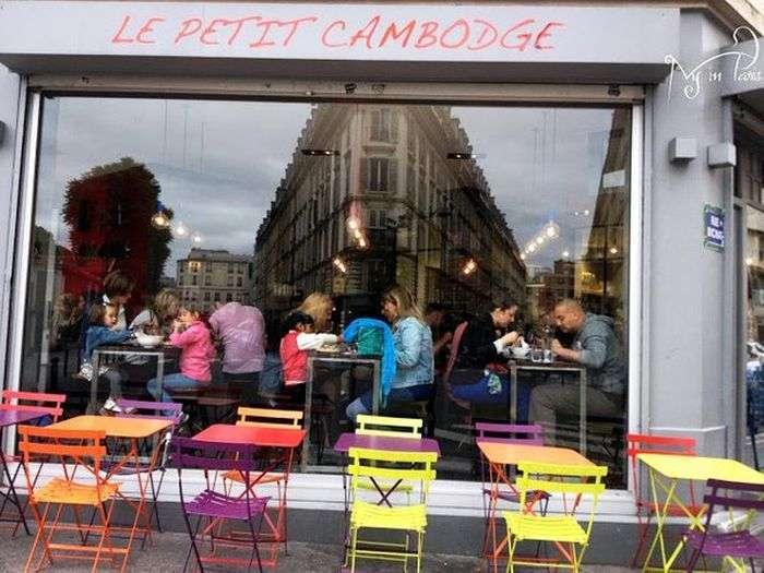 Паризький ресторан Petit Cambodge відкрився вперше після листопадової атаки терористів (8 фото)