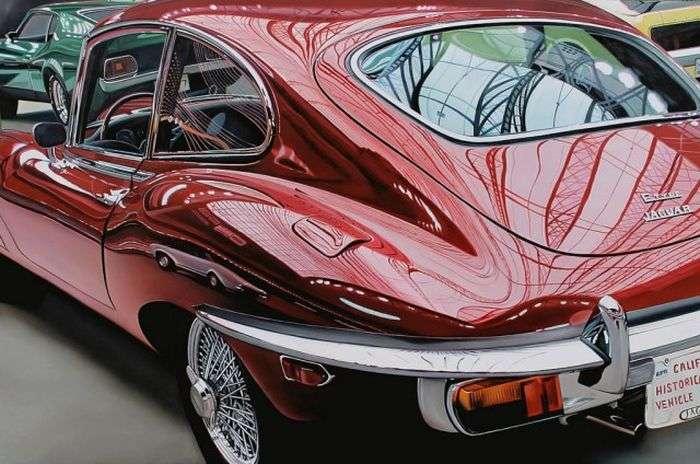 Неймовірно реалістичні малюнки автомобілів (25 фото)