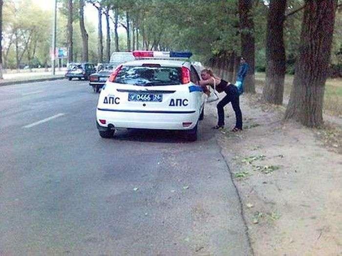 Забавні фото поліцейських (25 фото)