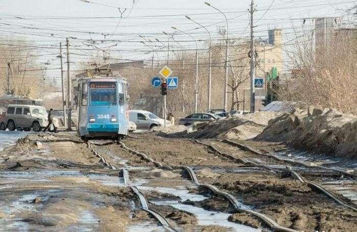 Фото, які можливо було зробити тільки в Росії. Частина 25 (50 фото)