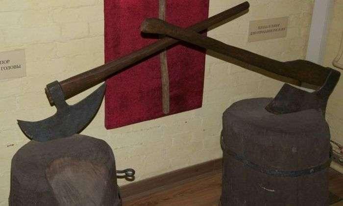 Робочий інструмент катів (11 фото)