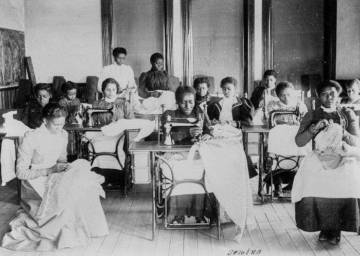 Життя темношкірого населення США в 1900 році (14 фото)
