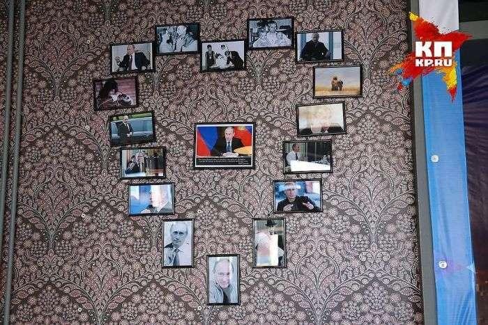 У Красноярську зявилося патріотичне кафе на честь Путіна (6 фото)
