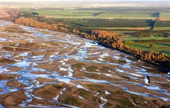 Чарівні фото «плетених» річок (16 фото)