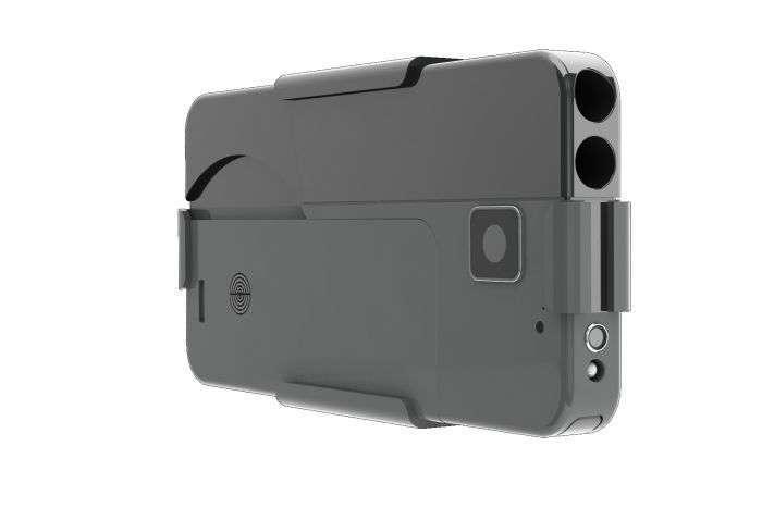 Пістолет для самооборони, замаскований під смартфон (3 фото)