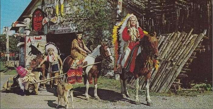 Іван Даценко - радянський льотчик, який став вождем індіанського племені (6 фото)