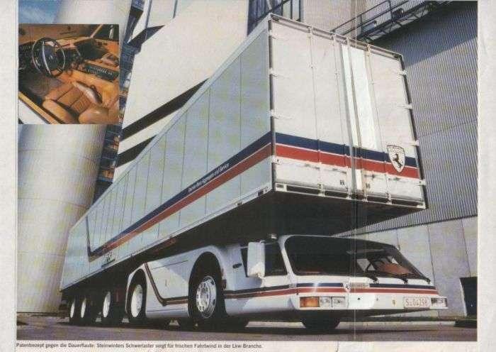 Steinwinter Supercargo - незвичайний вантажівка, який так і залишився концептом (8 фото)