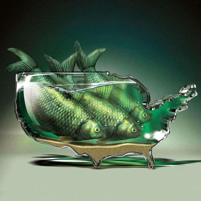 Сюрреалистичные зображення Ігоря Морски (27 малюнків)