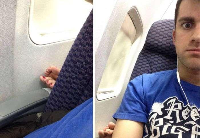 Пасажири, які доставляють дискомфорт (42 фото)