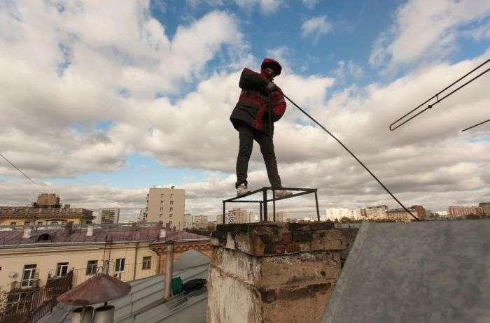 Як працюють сучасні сажотруси (15 фото)