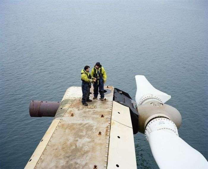 Найбільший підводний вітрогенератор в світі (10 фото)