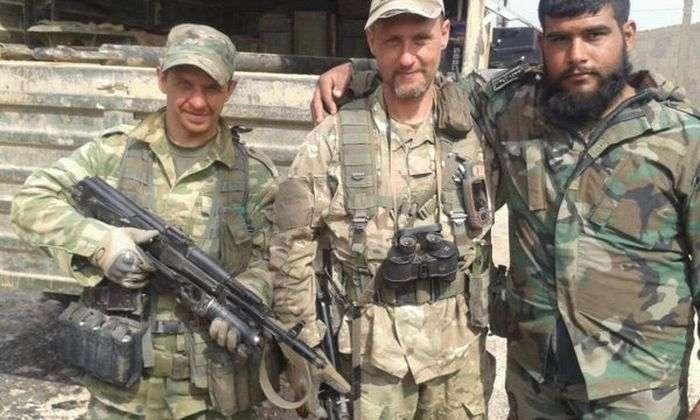 Російські військовослужбовці Сирії (30 фото)