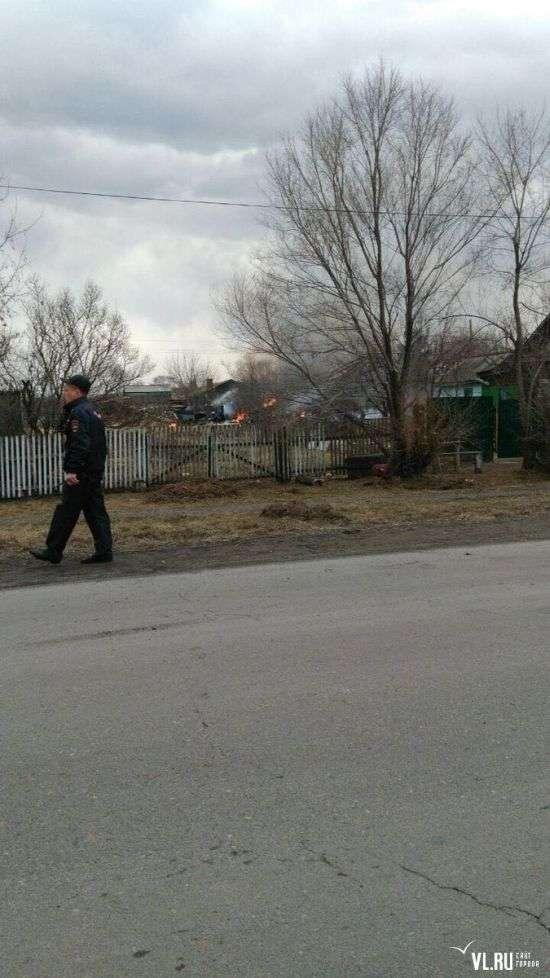 У Приморї впав штурмовик Су-25 (5 фото + 2 відео)