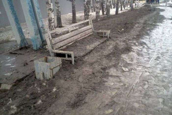 Фото, які можливо було зробити тільки в Росії. Частина 27 (41 фото)