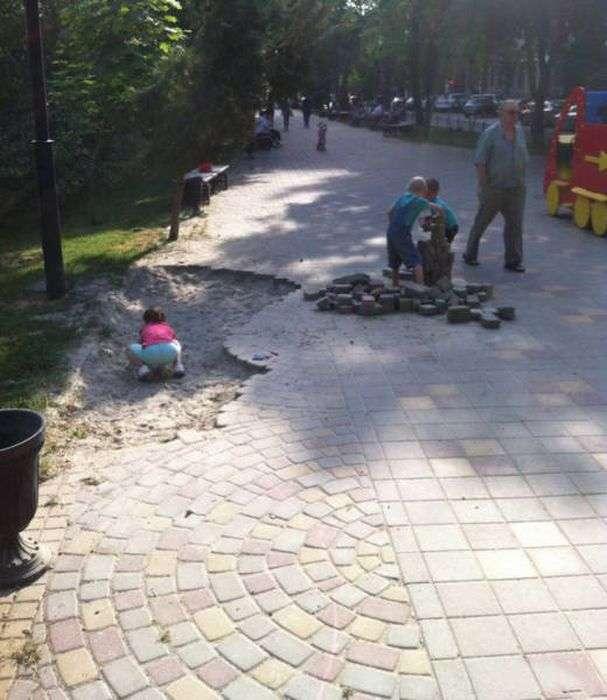 Фото, які можливо було зробити тільки в Росії. Частина 24 (41 фото)