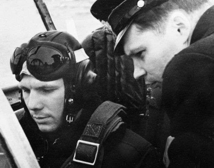 Життя Юрія Гагаріна до польоту в космос (14 фото)
