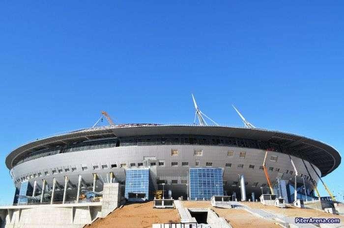 Вартість стадіону «Зеніт-Арена» перевищила мільярд доларів (19 фото)