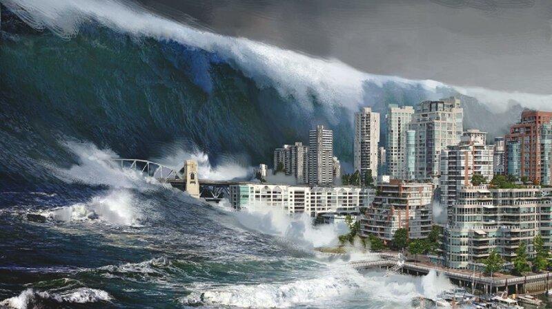 Несколько разрушительных фактов о цунами интересное