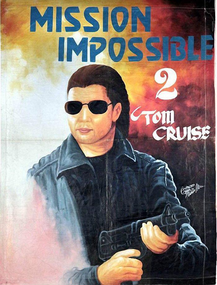 Смешные киноплакаты из Ганы. С такими афишами фильмы должны быть очень популярными!