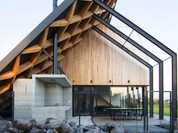 Как совместить хай-тек и экодизайн придумали в Польше Архитектура