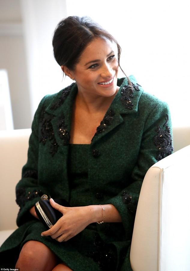 Меган Маркл и принц Гарри посетили Дом Канады в Лондоне meghan markle