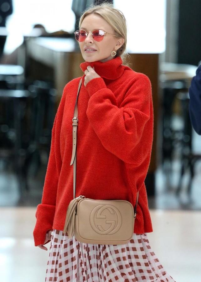 Кайли Миноуг в Сиднее airport