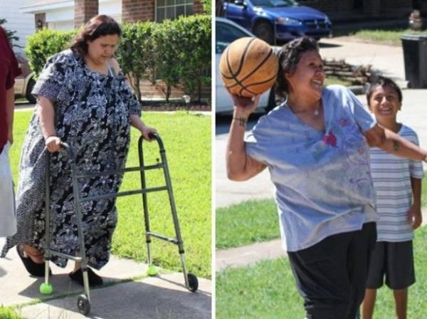 14 фотографий До и После похудения. Эти люди показали свою силу воли! Интересное